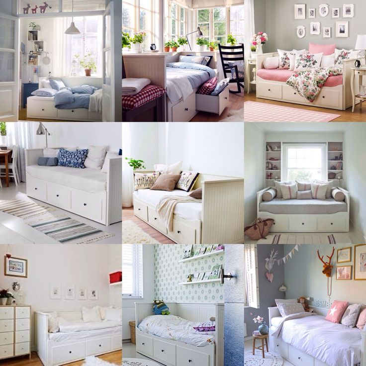 Ikea hemnes bed inspirations  Interior designSpace  Bedroom decor Ikea daybed Room Decor