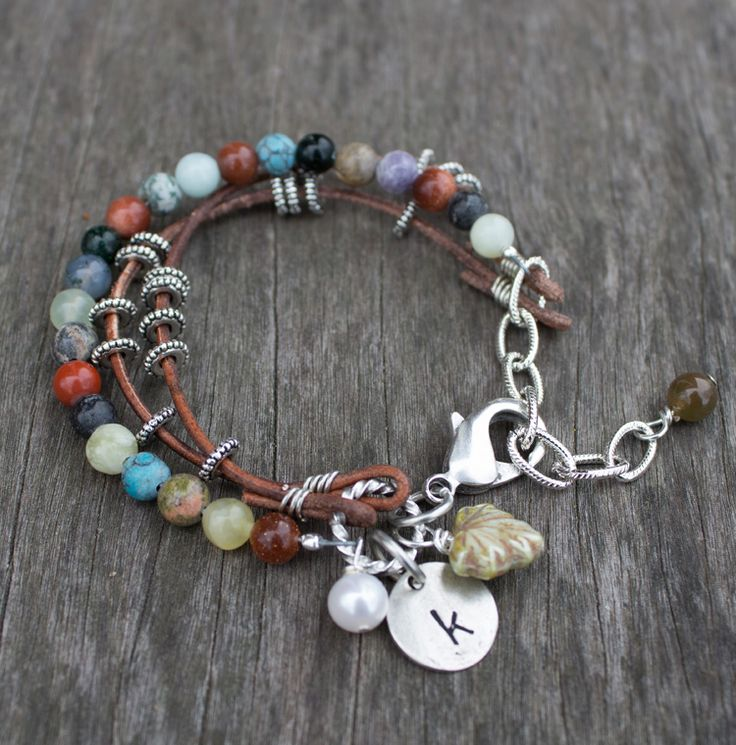 Sundance Style Bracelet with charms - tutorial shows how to use a Magical Crimper as well #DIY