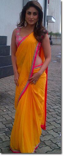 Manish Malhotra Sarees - Fashion Week - Kareena Kapoor