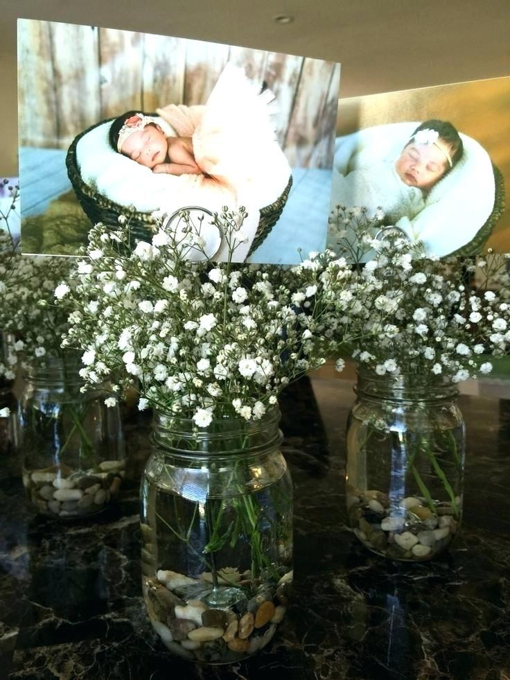 Cool Baptism Centerpiece Unique Cool Favor Flower For Full Size Of