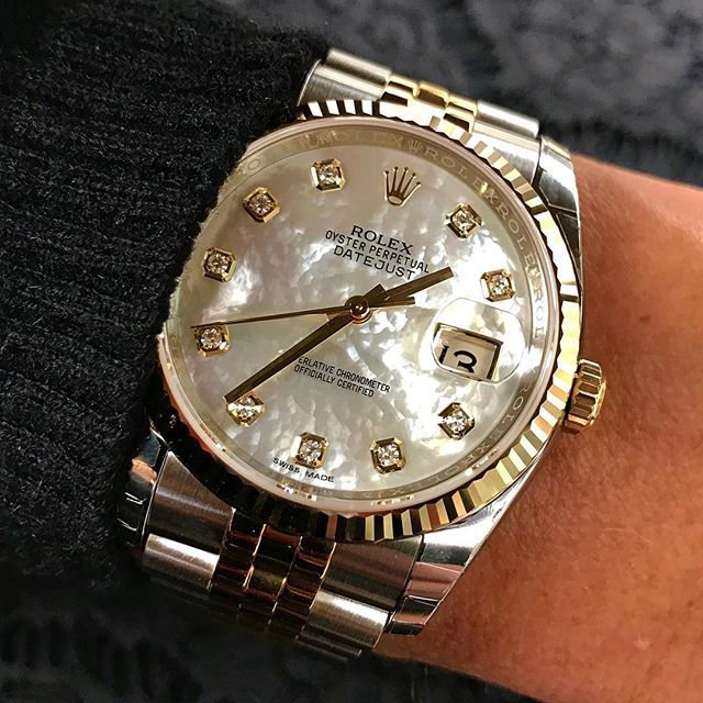 White mother of pearl DATEJUST 36mm Ref 116233 | http://ift.tt/2cBdL3X shares Rolex Watches collection #Get #men #rolex #watches #fashion