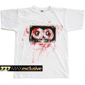 #777 #tshirt #tape #casette #bloody #blood #red http://sklep.galeria777.pl/pl/p/T-KASETA-BLOODY/88 https://www.facebook.com/Tshirt777