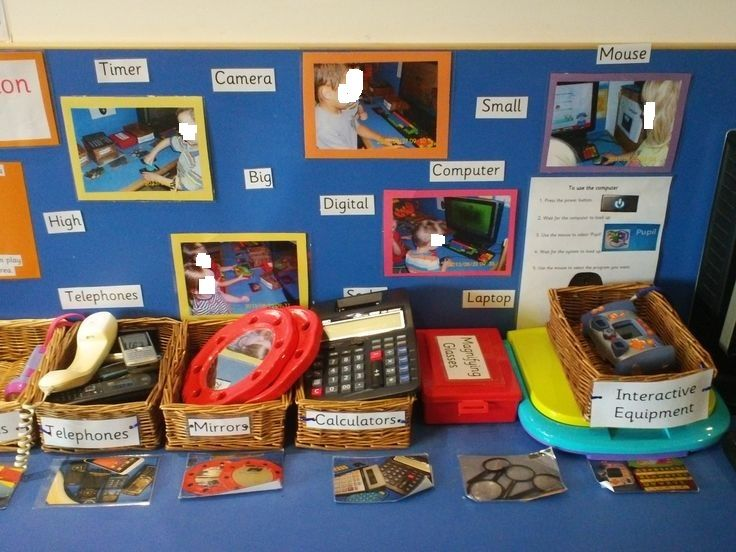 Kidsunlimited Crewe have created an inviting ICT area in preschool