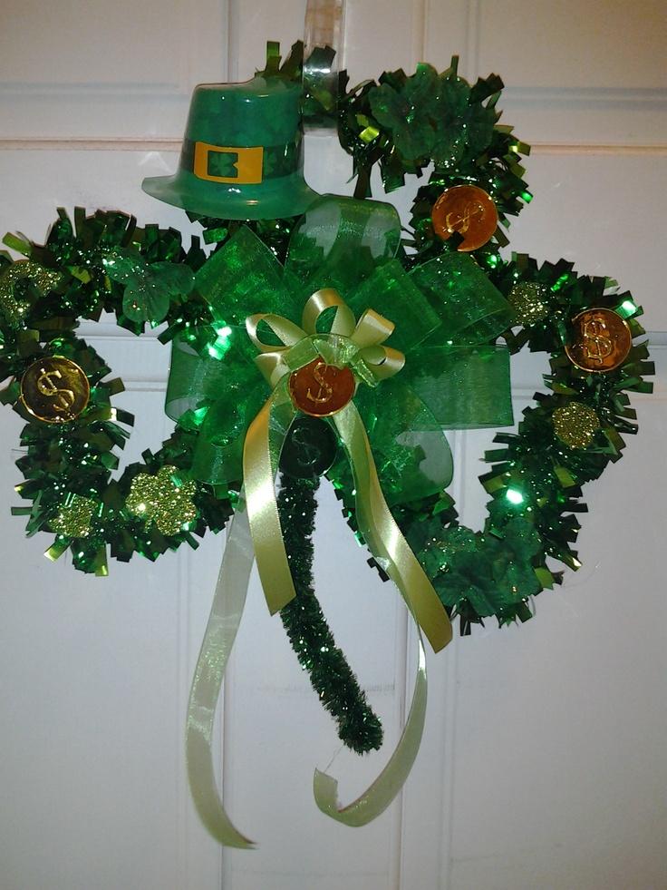 DIY St. Patty Wreath