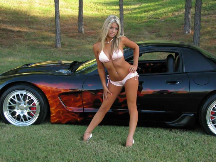 114 Best Corvettes With Beautiful Women Images On