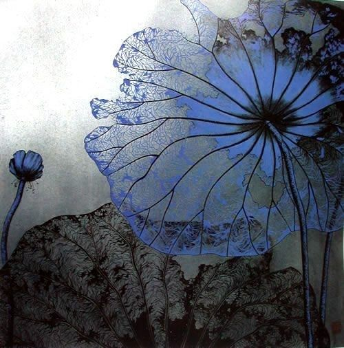lace from lotus leafThe Artists, Colors, Beautiful, Moon Art, Talent O'Port, Blue Lace, Blue Flower, Water Lilies, The Moon