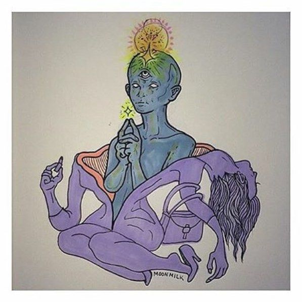 Divine third eye trippy art - Google Search