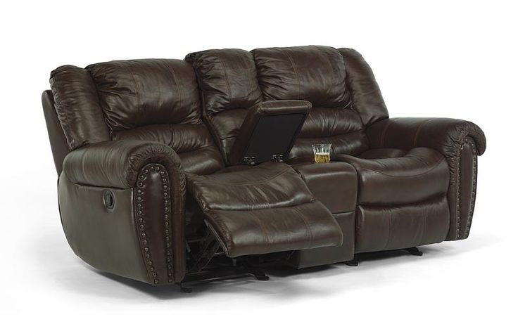 Flexsteel Dual Reclining Leather Sofa Miller Waldrop Our Brands
