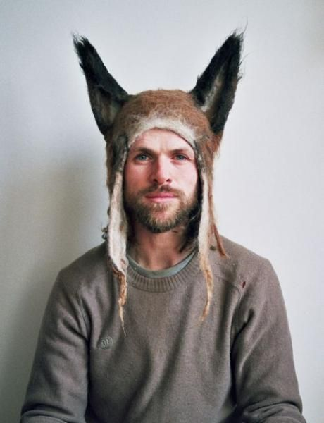 Barbara And Richard Keal - Fox hat  http://us.anthropologie.com/anthro/product/home-design/B26511121.jsp