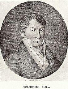 """Melchiorre Gioia, nato a Piacenza nel 1767, scrisse il """"Nuovo Galateo"""""""