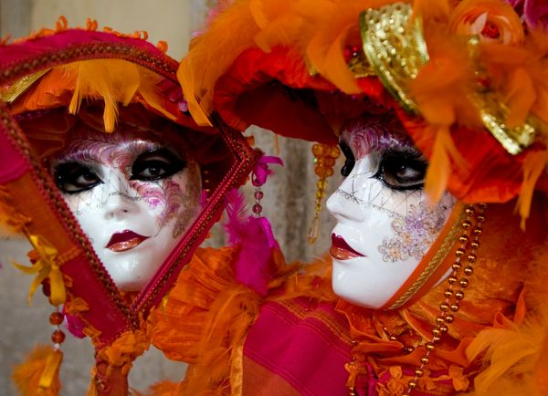 Carnival of Venice, Italy: between February & March