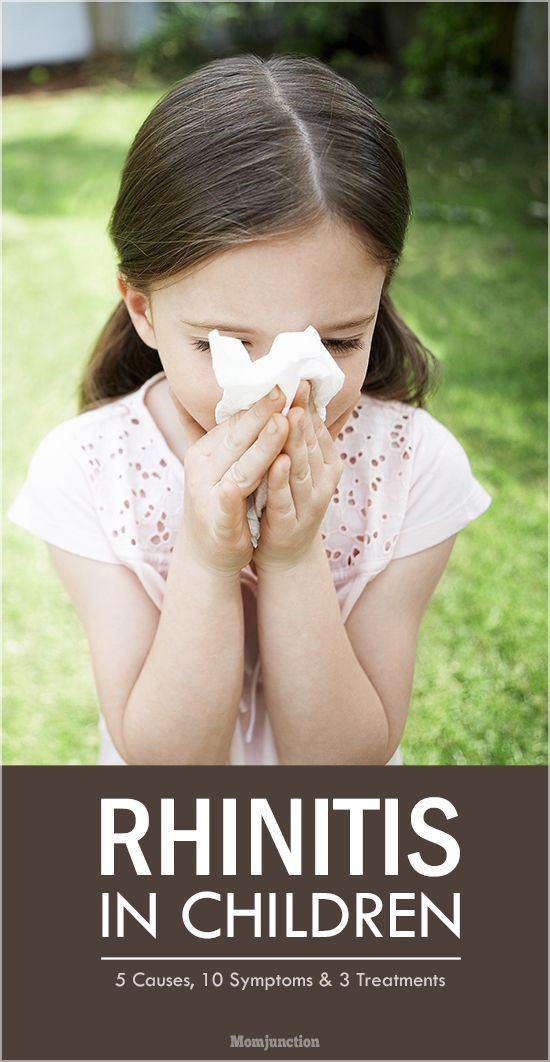 Rhinitis In Children - 5 Causes, 10 Symptoms And 3 Treatments