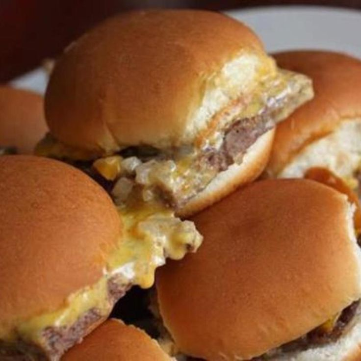 Copycat White Castle: Krystal Burgers