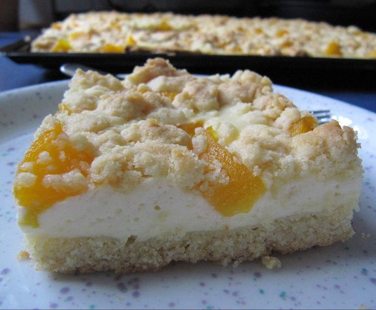 Rezept Quark-Obst-Streuselkuchen (vom Blech) von sabri - Rezept der Kategorie Backen süß