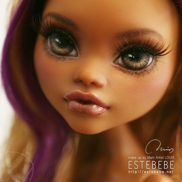Monster High custom Clawdeen Wolf repaint by jerryberrys