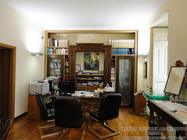 Law Firm - #napoli #home #interior #design # furniture #project #architecture #architect #architettura #interiors #arredo #arredamento #edilizia #office #department #agency #ufficio