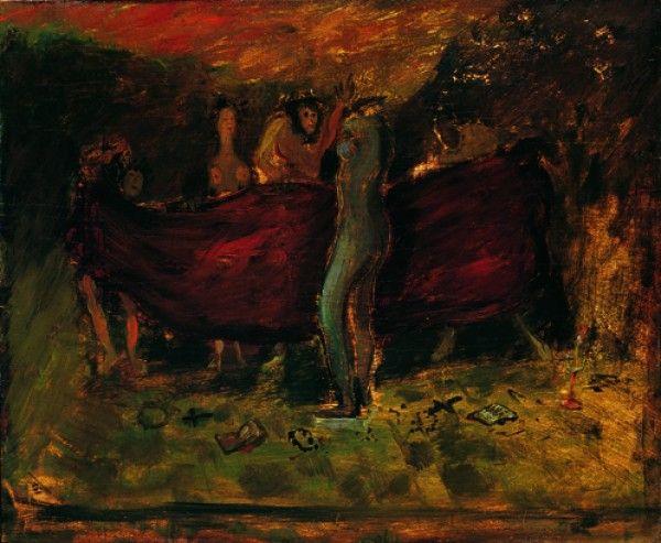 Scipione Scena apocalittica 1930