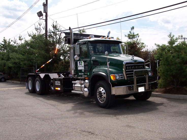 russell reid rolloff container truck httpwww