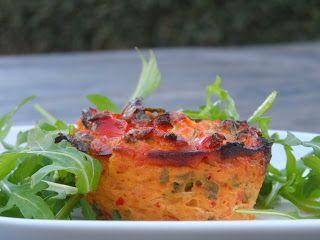 Proeven op zondag: Tomaten-paprikataartje, voedselzandloper genieten tijdens de eindejaarsperiode