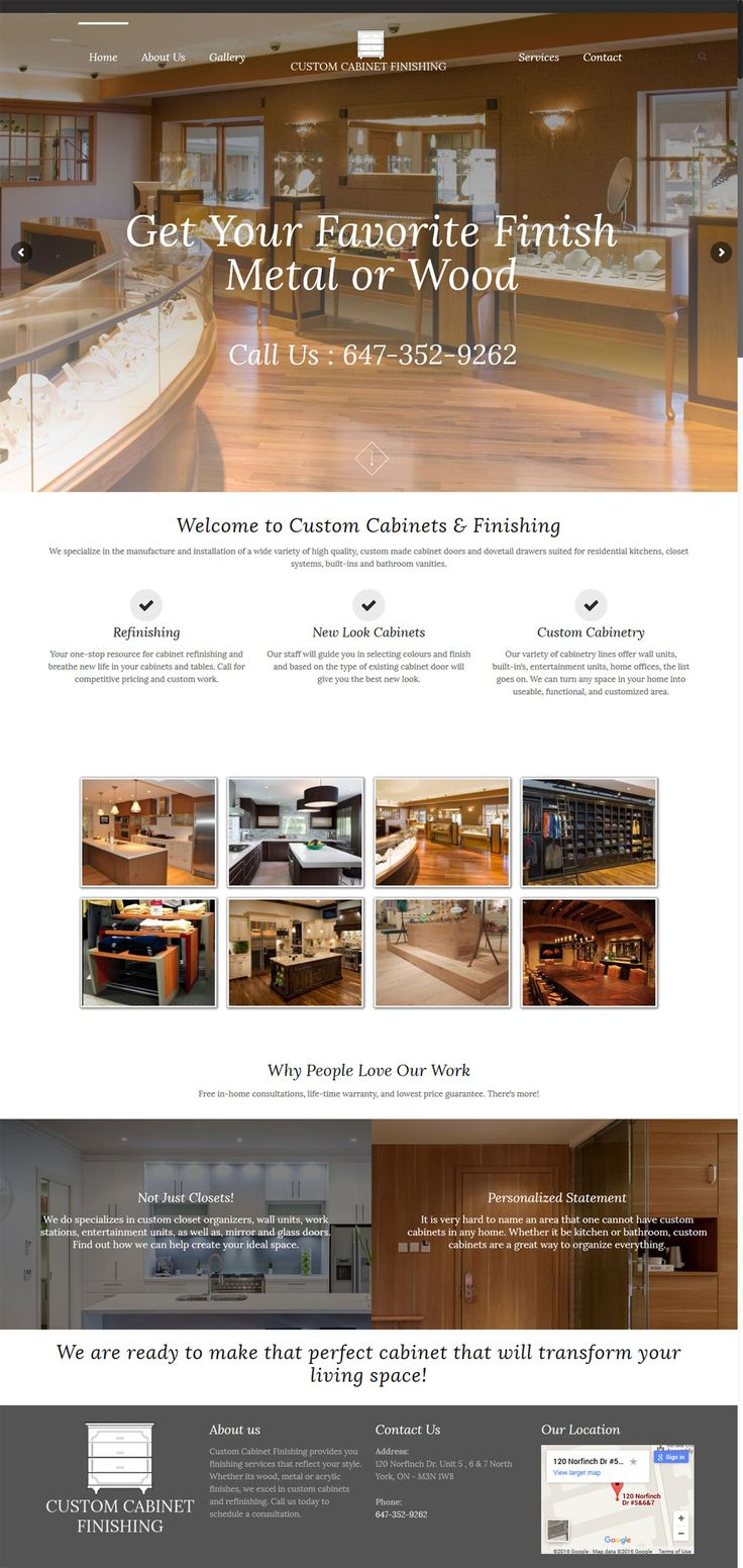 13 best ecommerce website design portfolio images on pinterest customcabinetfinishing a beautiful websitedesign portfolio by top webdeveloper and designer of citrusstudio