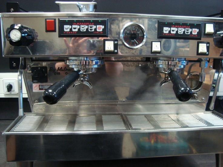 Mildred - the best Espresso Machine in the world...