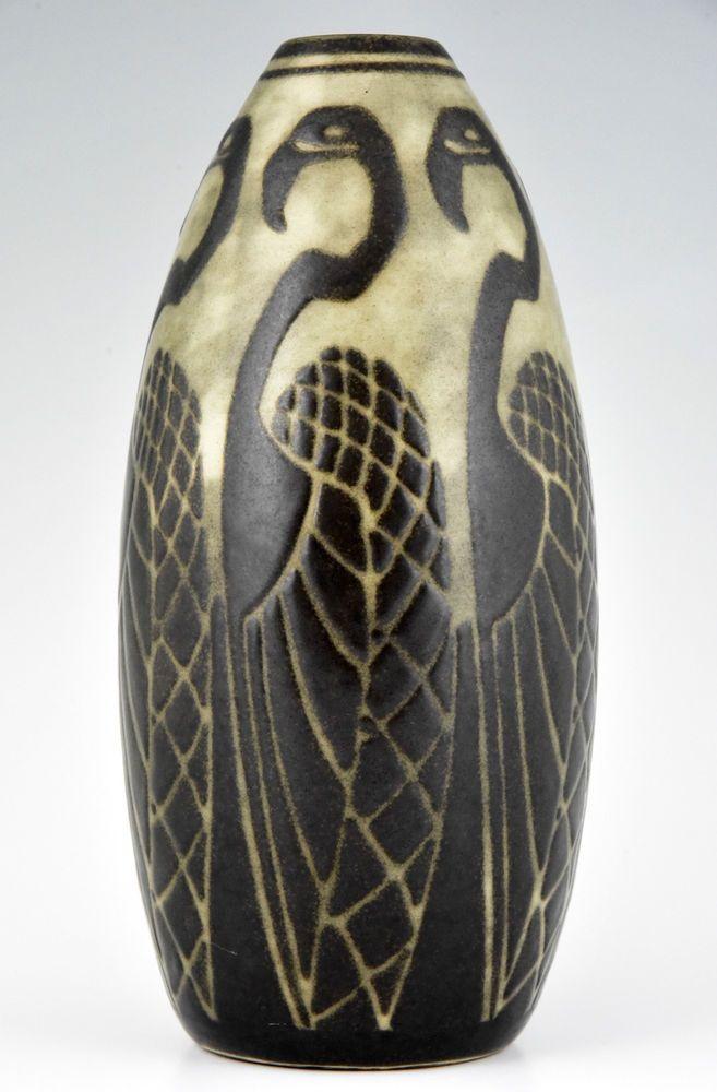 17 best images about art deco vases ceramics pottery procelain stone on pinterest. Black Bedroom Furniture Sets. Home Design Ideas