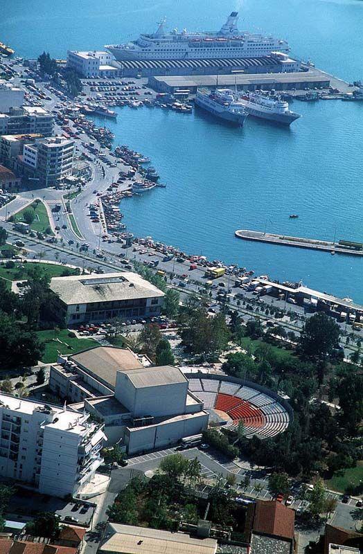 The city of Volos (Magnesia pref.) Greece