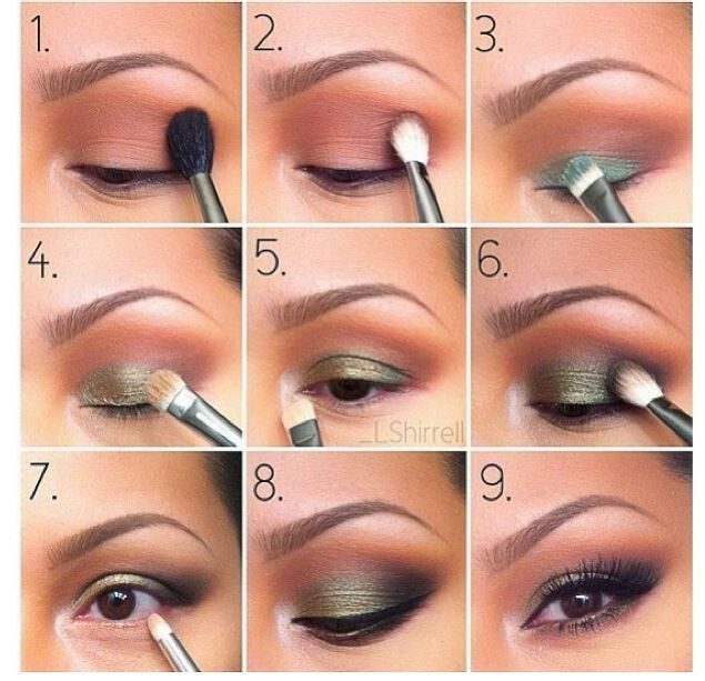 Maquillaje verde / green make up