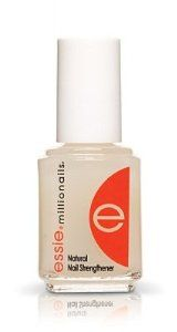 Essie Essie Millionails - Natural Nail Strengthener by Essie. $5.45. It's a vitamin-infused formula that boosts the health, vitality, shine, and an all-over polished look. This is the first level of strengthening nail treatments. Beat brittle nails with the multi-tasking power of Essie Millionails - Natural Nail Strengthener. Beat brittle nails with the multi-tasking power of Essie Millionails - Natural Nail Strengthener. It's a vitamin-infused formula that boosts the health, vit...