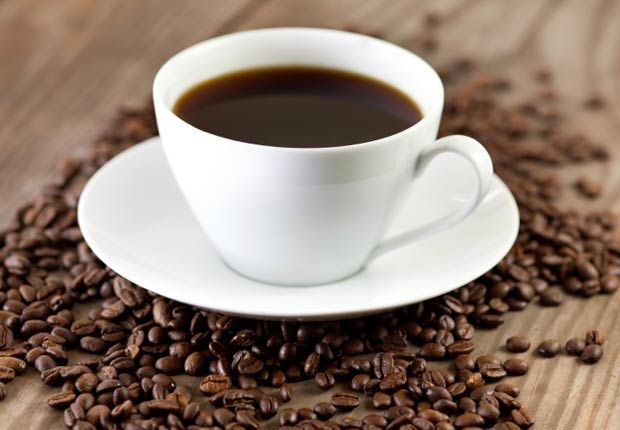 Drink black coffee and avoid latte. Caffeine present in coffee is responsible for weight loss. It can suppress appetite and increase weight loss.