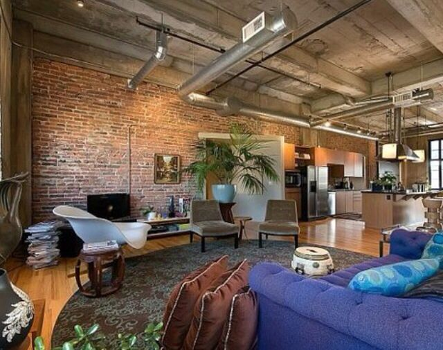 Best office exposed ductwork images on pinterest