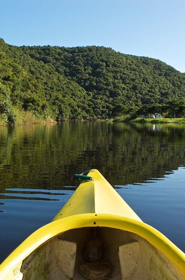 Garden Route, Wilderness Kanutour auf dem Towsrivier und