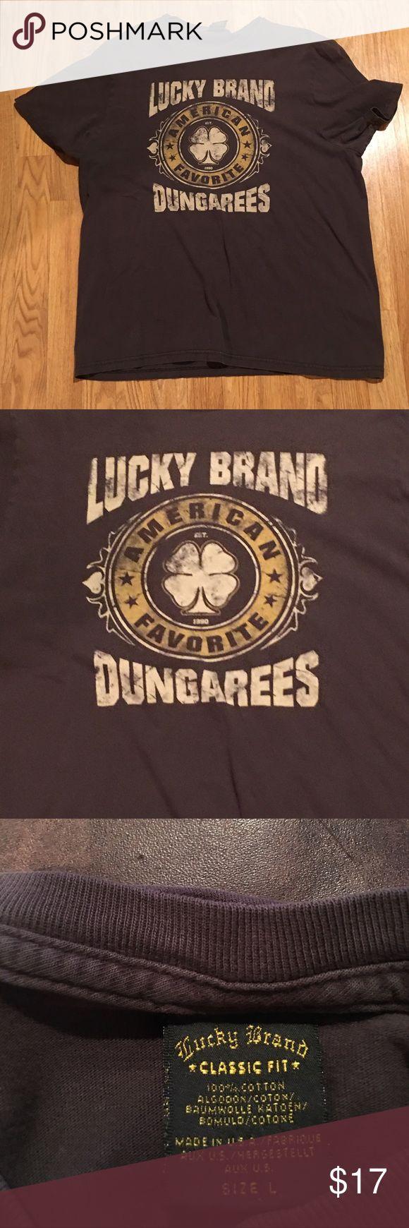 Lucky Brand T-Shirt Luck Brand T-Shirt...men's size L Lucky Brand Shirts Tees - Short Sleeve