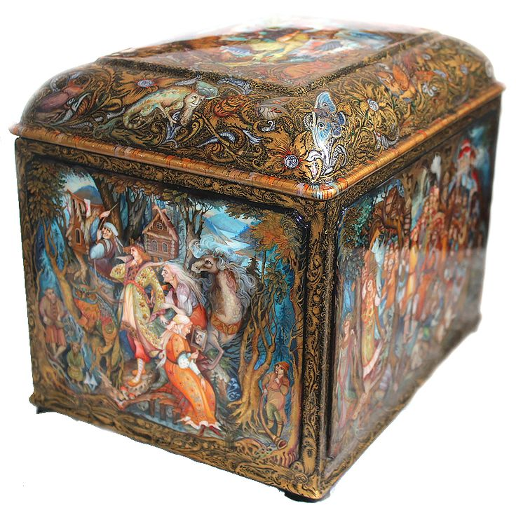 Russian Lacquer Art Gallery