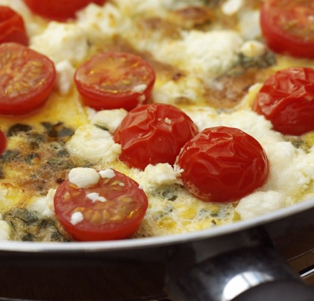 Herb and Goat Cheese Frittata: Goats, Cheese Frittata, Brunch Ideas, Herbs, Food, Frittata Recipe, Favorite Recipes, Breakfast Recipes, Goat Cheese