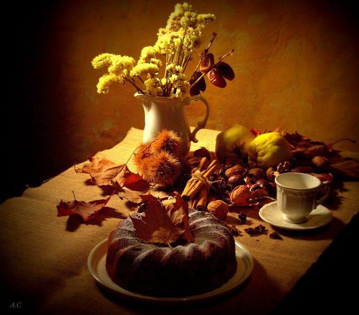 Cocina compartida: Bundt-cake de otoño con membrillo dátiles nueces y...