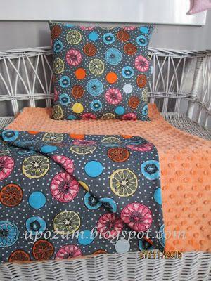Apozu, poduszka, kocyk, minky pillow
