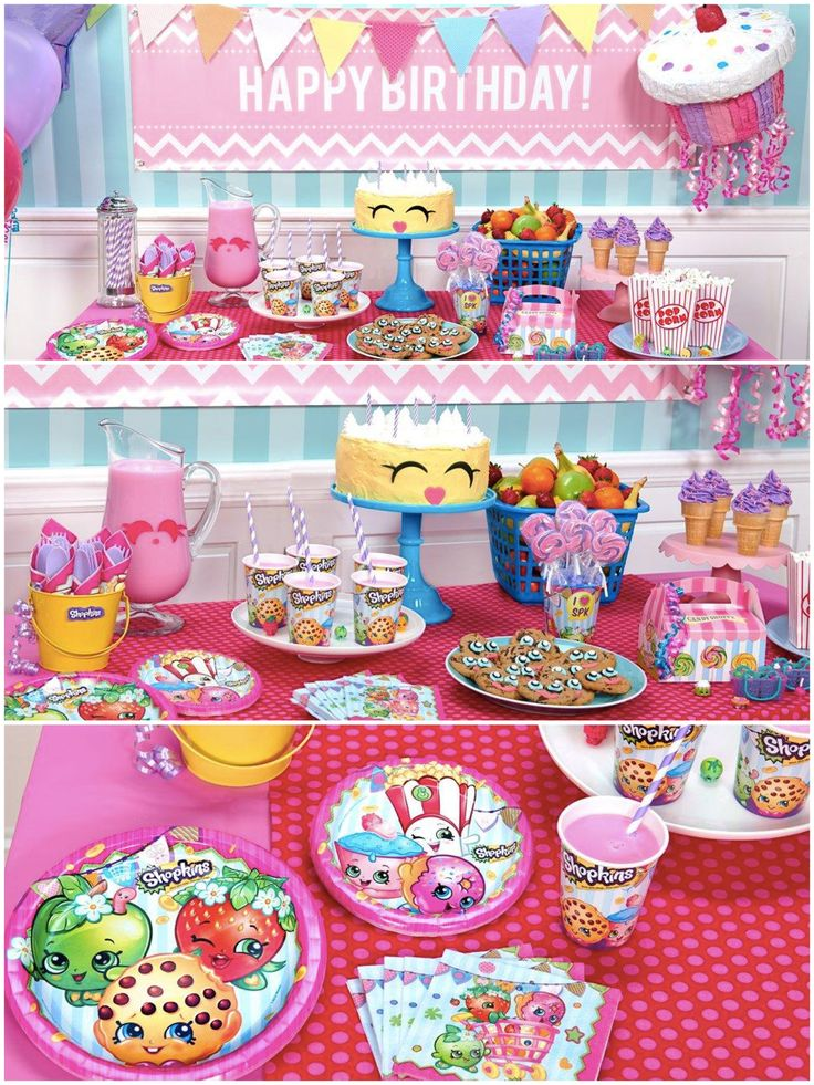 Is your child obsessed with collecting Shopkins? Surprise her by planning a Shopkins birthday party! We have gathered together the best of the best in Shopkins party supplies including invitations, tableware, decorations, party favors, and fun activities to make the party extra fun.