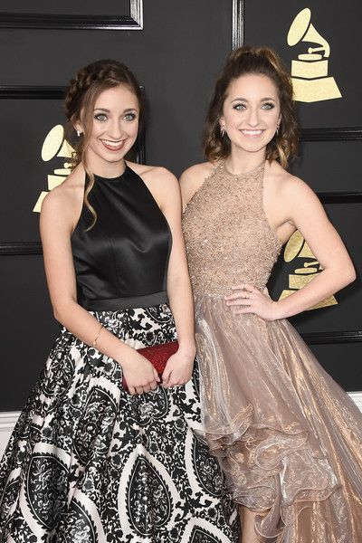 Brooklyn McKnight and Bailey McKnight attend The 59th GRAMMY Awards at STAPLES Center on February 12, 2017 in Los Angeles, California.