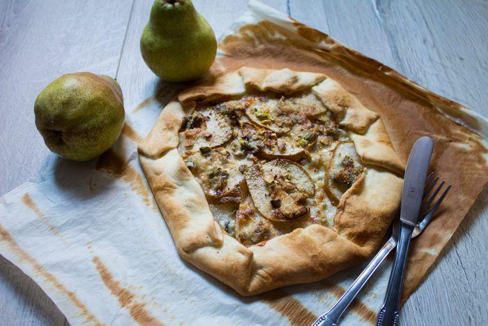 Gallette pere e gorgonzola ricetta