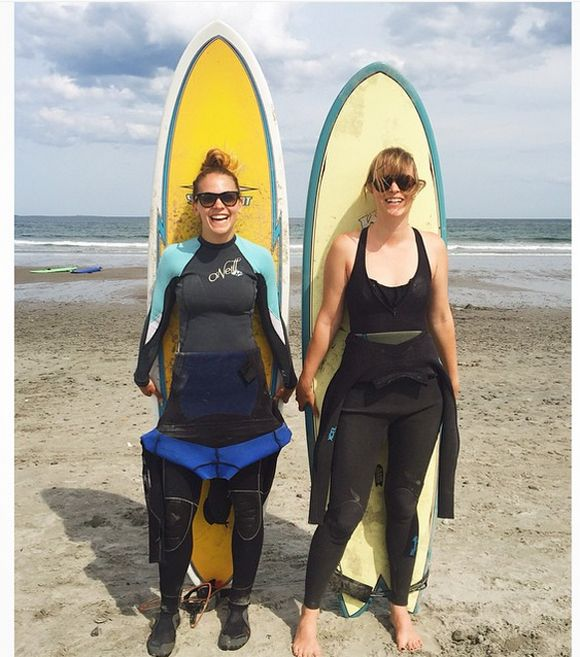 Andréanne A. Malette et Marina Bastarache en roatrip aux USA   HollywoodPQ.com