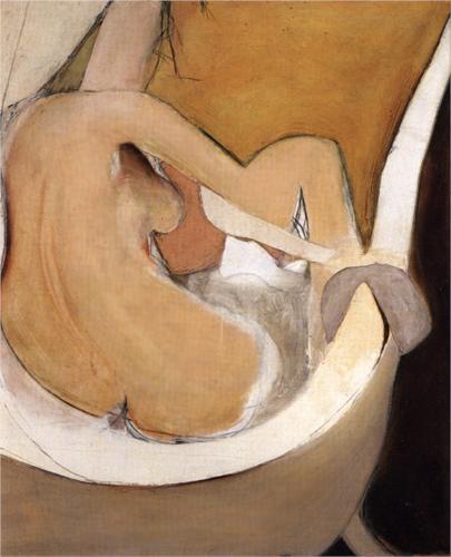 Woman in Bath - Brett Whiteley