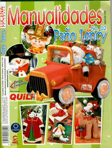 MANUALIDADES PAÑO LENCY N2