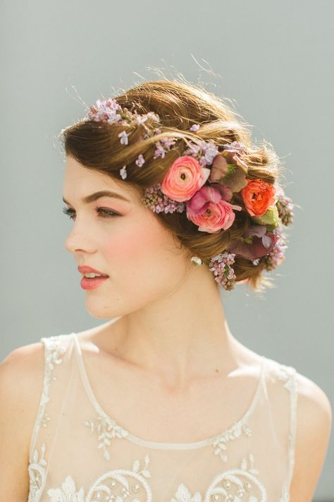 Nice use of flowers in the hair