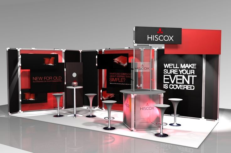 Exhibition Services | Hiscox Concept | Medium Stand