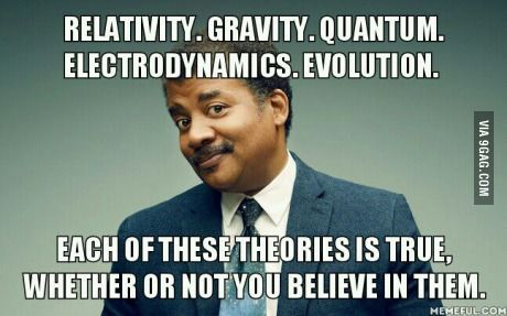 Our beliefs should be based on evidence and reality, not fairytales and superstition.