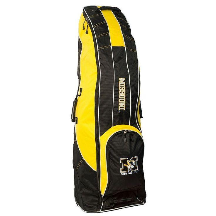 Team Golf Missouri Tigers Golf Travel Bag, Multicolor