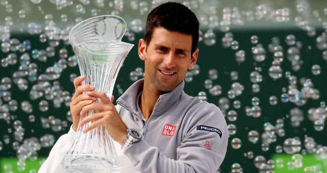 Miami - Novak Djokovic beats Rafael Nadal 6-3 6-3