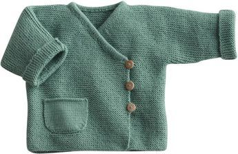Blij dat ik brei: Baby-vestje, link to pattern (in Dutch) below on Telegraaf website