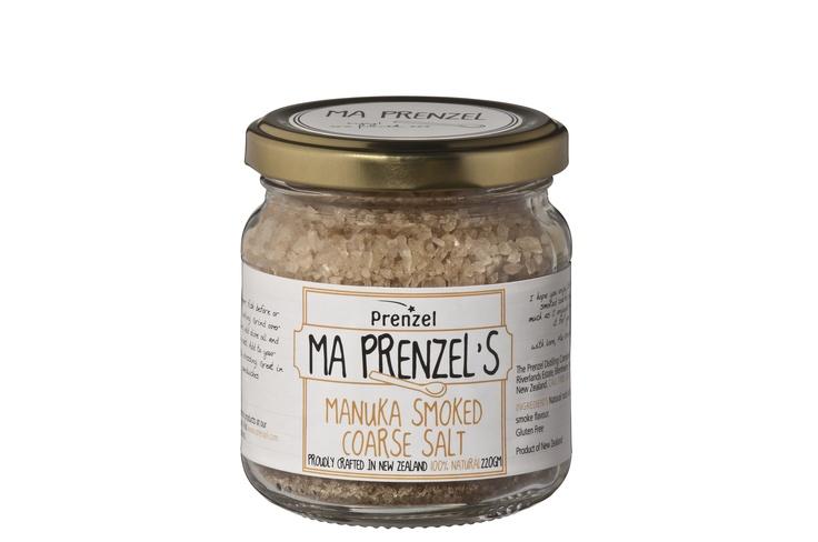 Ma Prenzel Manuka Smoked Salt  www.prenzel.com